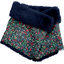 Children fur scarf snood  tulipes - PPMC