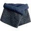 Fleece scarf snood etoile or marine  - PPMC