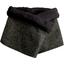 Fleece scarf snood noir pailleté - PPMC