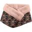 Fleece scarf snood ochre bird - PPMC