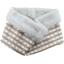 Fleece scarf snood rayure bleu cuivré - PPMC