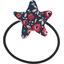 Elastique cheveux étoile camelias rubis - PPMC