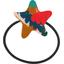 Elastique cheveux étoile canopée - PPMC
