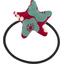 Elastique cheveux étoile cerisier rubis jade - PPMC