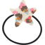 Pony-tail elastic hair star confetti aqua - PPMC