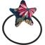 Elastique cheveux étoile dahlia rose marine - PPMC