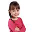 Elastique cheveux étoile dahlia rose marine
