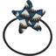 Elastique cheveux étoile  eclats bleu nuit - PPMC
