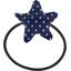 Pony-tail elastic hair star etoile marine or - PPMC