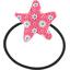 Elastique cheveux étoile  fleurette blush - PPMC