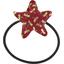 Elastique cheveux étoile libellule mini rubis - PPMC