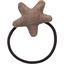 Elastique cheveux étoile lin or - PPMC