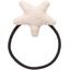 Elastique cheveux étoile  lin pailleté - PPMC