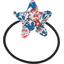 Elastique cheveux étoile london fleuri - PPMC