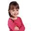 Estrella elástica para el pelo mini flor rosa