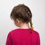Pony-tail elastic hair star ochre