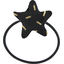 Estrella elástica para el pelo paja dorada - PPMC