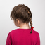 Pony-tail elastic hair star red
