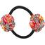Elastique fleur du japon floral pêche - PPMC