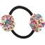 Elastique fleur du japon oeillets jean - PPMC