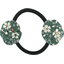 Elastique fleur du japon fleuri kaki - PPMC