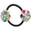 Goma de pelo con flores primavera - PPMC