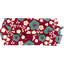 Etui à lunettes cerisier rubis jade - PPMC