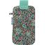 Etui téléphone portable fleur mentholé - PPMC