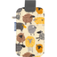 Big phone case yellow sheep - PPMC
