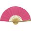 Hand-held fan fuchsia gold star - PPMC