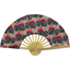 Hand-held fan royal poppy - PPMC