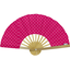 Hand-held fan fuschia spots - PPMC