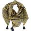 Foulard pompon 1000 feuilles - PPMC