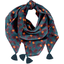 Pom pom scarf pineapple party - PPMC