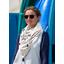 Foulard pompon bord de mer