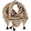Pom pom scarf cocoa pods - PPMC