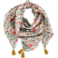 Foulard pompon  corolle - PPMC
