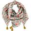 Pom pom scarf  corolla - PPMC