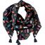 Pom pom scarf grizzly - PPMC