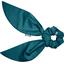 Short tail scrunchie bleu vert - PPMC