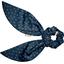 Short tail scrunchie bulle bronze marine - PPMC