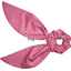 Short tail scrunchie fuchsia gold star - PPMC