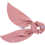 Short tail scrunchie dusty pink lurex gauze - PPMC
