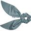 Foulchie court gaze pois or bleu gris - PPMC