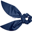 Short tail scrunchie ink blue - PPMC