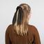 Short tail scrunchie golden straw