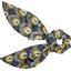 Short tail scrunchie plumes de paon - PPMC
