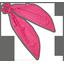 Foulchie etoile or fuchsia - PPMC
