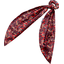 Long tail scrunchie vermilion foliage - PPMC