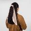 Long tail scrunchie confetti aqua